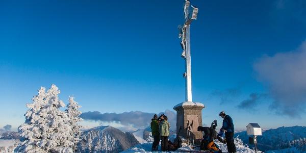 Gipfelrast auf der Bodenschneid