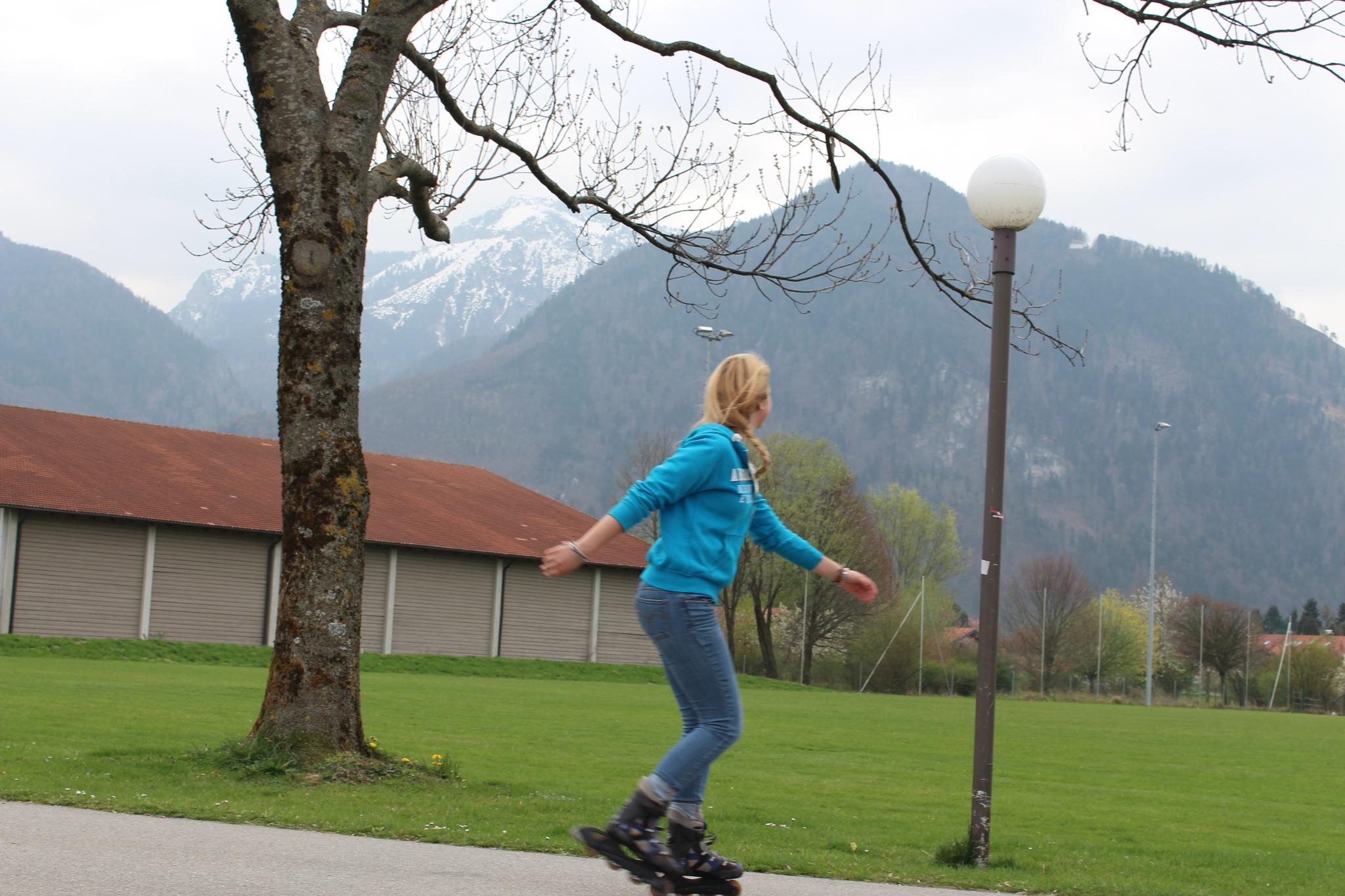 Inline Skating am Sportgelände Brandstätt