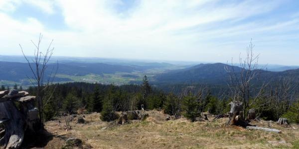 Panoramablick am Heugstatt