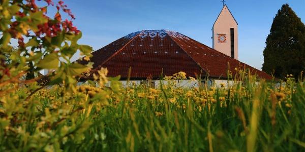Ulrika-Kirche Unterstadion