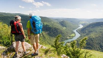 Randonnée Balvay - Rivière d'Ain - Bolozon