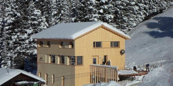 Restaurant Schneeflucht im Winter