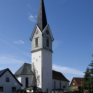 Hohenweiler, Katholische Pfarrkirche Heiliger Georg