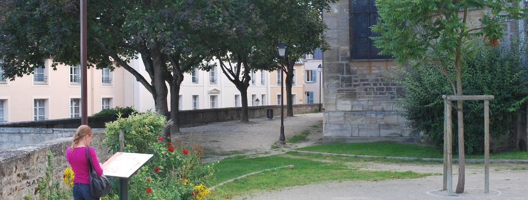 Le vieux village du Pecq et l'église Saint Wandrille