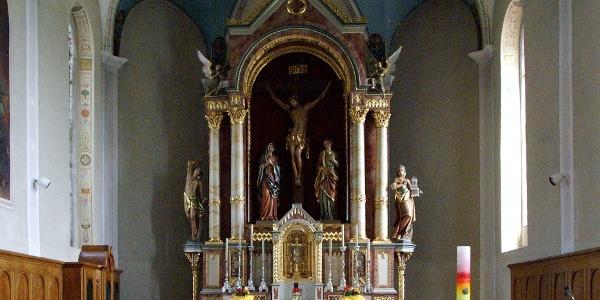 Langen bei Bregenz, Katholische Pfarrkirche Heiliger Sebastian 1