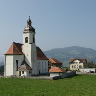 Langenegg, Katholische Pfarrkirche Unsere Liebe Frau Mariä Heimsuchung