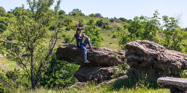 A Szélmarta-szikláknál
