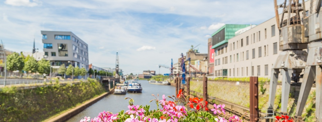 Startpunkt - Hafenbecken eins