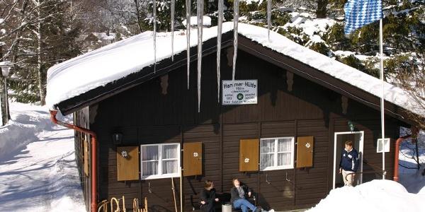 Hammerhütte (750m) - DAV Sektion München