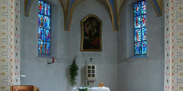 Raggal, Kuratienkirche Heilige Katharina 2