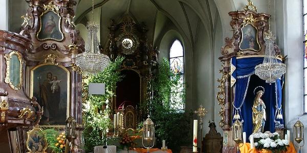 Raggal, Katholische Pfarrkirche Heiliger Nikolaus und Heiliger Theodul 2