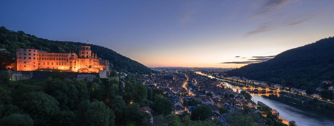 Heidelberg in Baden-Wuerttemberg