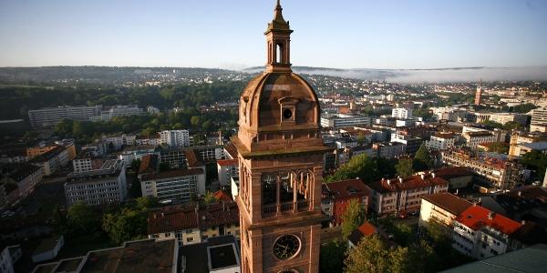 Pforzheim Blick auf die Stadt