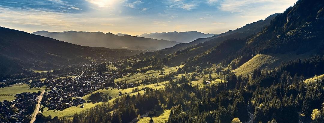 Wandern in Bad Hindelang im Allgäu