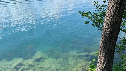 Badestelle am Nordufer