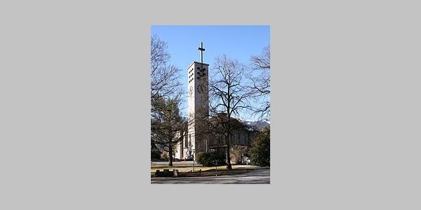 Bludenz, Katholische Pfarrkriche Heiliges Kreuz