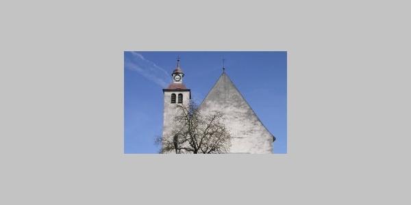 Bludesch, Katholische Pfarrkirche Heiliger Jakobus der Ältere und Friedhof