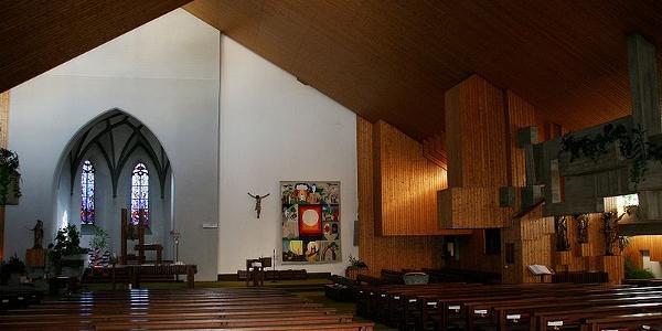 Göfis, Katholische Pfarrkirche Heiliger Luzius 2