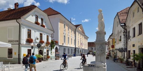 staro mestno jedro Radovljice