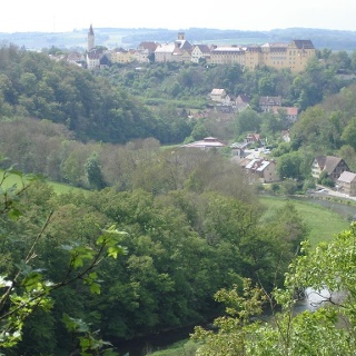 Blick auf Kirchberg