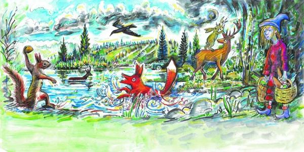 Illustration Der verschwundene Sternenhimmel