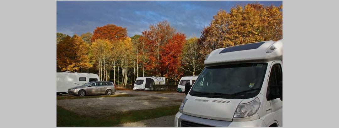 Bolton Abbey Estate Caravan Club Site