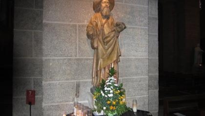 Jakobus in der Kathedrale (Nov. 2012)