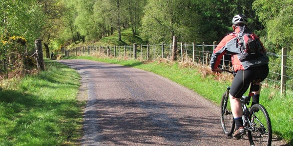 Cycling the Hadrian's Cycleway