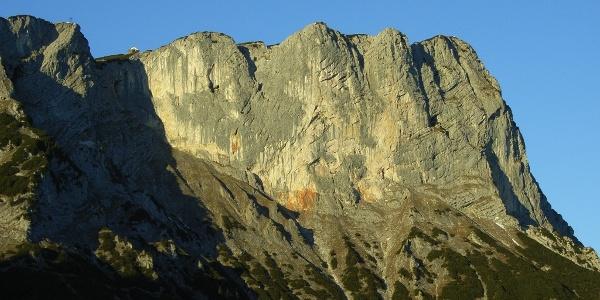 Untersberg-Südwände im Morgenlicht