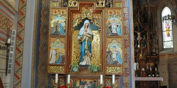 Silbertal, Katholische Pfarrkirche Heilige Josef und Nikolaus mit Friedhof 3