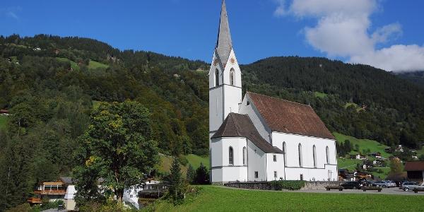 Silbertal, Katholische Pfarrkirche Heilige Josef und Nikolaus mit Friedhof 10