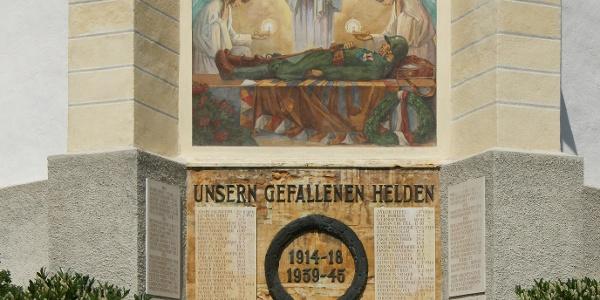 Tschagguns, Katholische Pfarrkirche Unserer Liebe Frau Mariä Geburt mit Friedhof