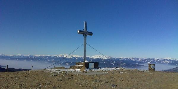 Gipfelkreuz am Stuhleck