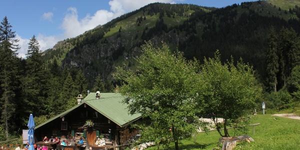 Start an der Kenzenhütte