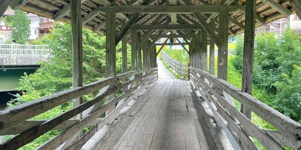 Start und Zielpunkt ist die sagenumwobene Teufelsbrücke