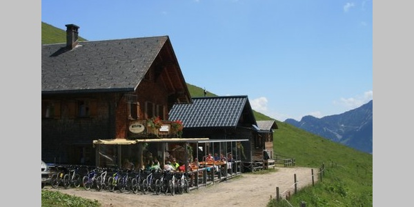 Berghaus Mattajoch - Alpe Gamp