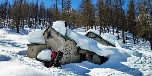 Skitour durch Bodme