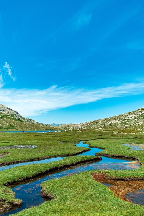 Wanderung entlang des Lac de Nino auf Korsika