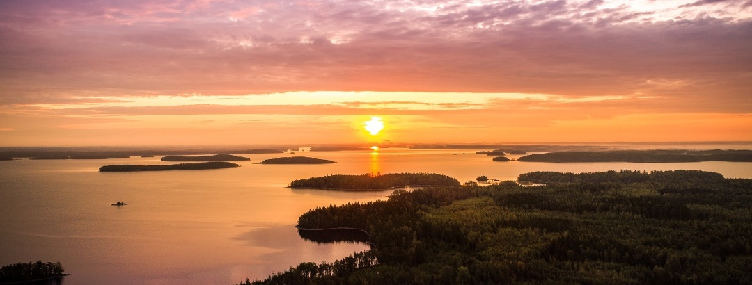 The splendor of summer in Saimaa