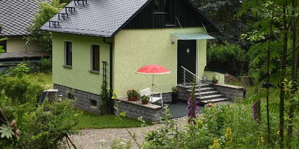 Außenansicht Ferienhaus Streubergblick
