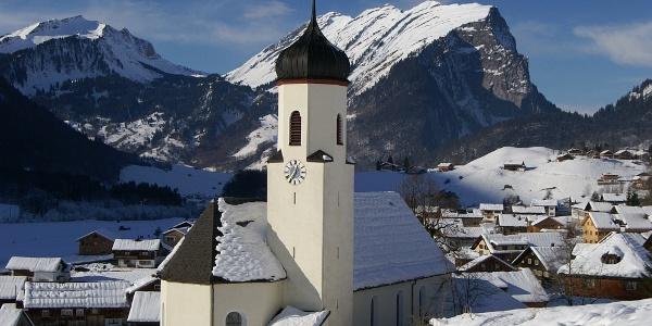 Schoppernau, Katholische Pfarrkirche Heiliger Philippus und Heiliger Jakobus