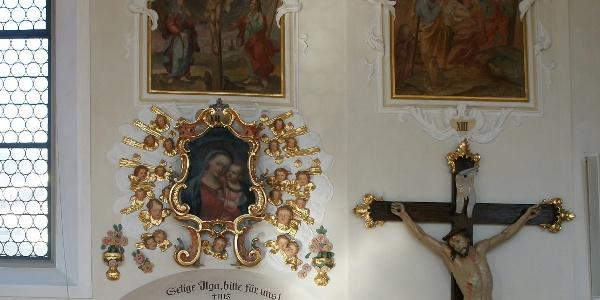 Schwarzenberg, Katholische Pfarrkirche Heiligste Dreifaltigkeit 4