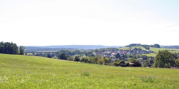 Blick Richtung Wittlensweiler