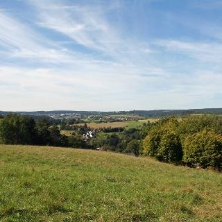 Blick von Aach nach Freudenstadt