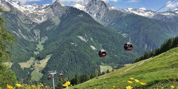 The cable car Klausberg