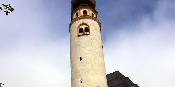 Die ursprünglich romanische Pfarrkirche zum Hl. Michael in Innichen wurde im 18 Jhd. barockisiert.