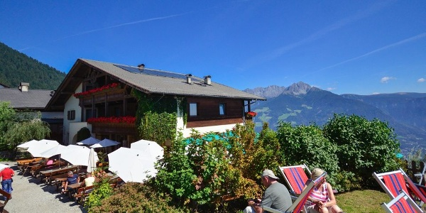 The Albergo Ristorante Hochmuth is known for holidays in the mountains of Merano and for it's good food.