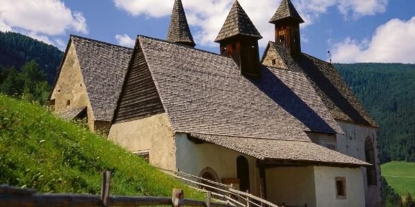Three Gothic churches: St. Nicholas, St. Gertraud, St. Magdalena