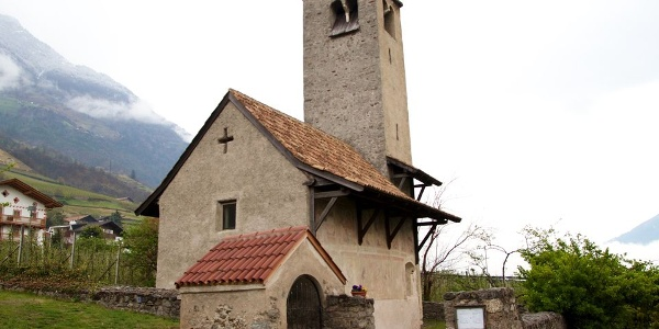 The Saint Proculus Church in Naturns, early Romanesque architecture