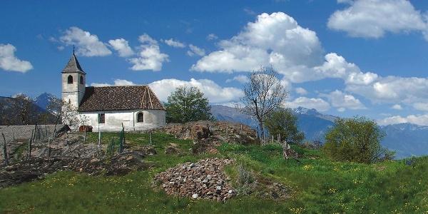 The small church of St. St. Hippolytus near Tesimo - Tisens